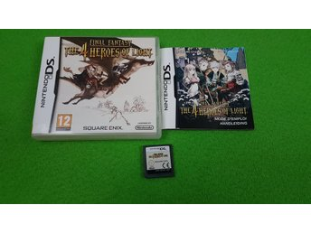 Final Fantasy The 4 Heroes of Light KOMPLETT Nintendo DS