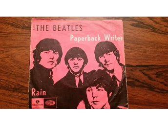 Beatles,single,Denmark,paperback writer