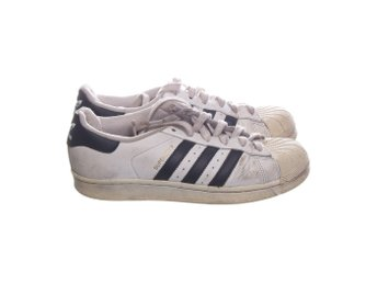 Adidas, Sneakers, Strl: 38, Originals Superstar, Vit, Skinn