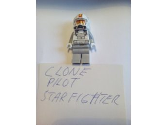lego star wars clone pilot star fighter nytt