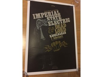 Imperial State Electric / poster - Hellacopters