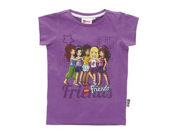 LEGO FRIENDS, T-SHIRT, LILA (104)