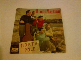 Bruno Martino In Sweden North Pole, vinyl EP, mega rare!