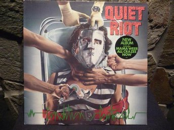 QUIET RIOT - Condition Critical - Epic EPC 26075, 1984