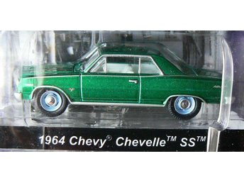 1964 Chevrolet Chevelle Green Machine Chase car Greenlight 1:64 - Uddevalla - 1964 Chevrolet Chevelle Green Machine Chase car Greenlight 1:64 - Uddevalla