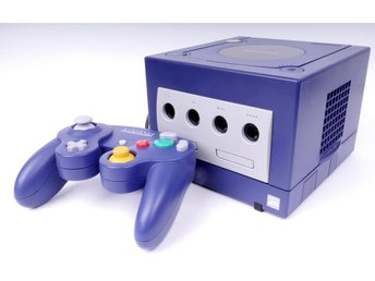 Nintendo Gamecube Console (GC) Purple -  - PAL (EU)