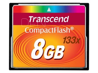 Transcend Compact Flash 8GB 133x