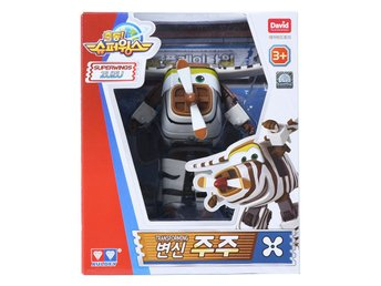 Super Wings Season 2 - Transforming Zuzu Action Figur ! Mästerflygarna
