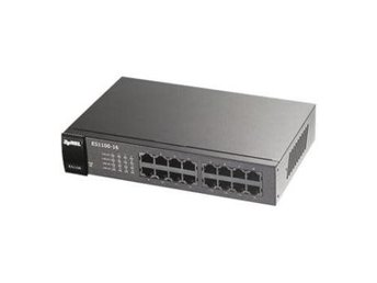 ZyXEL ES1100-16P 16 port 10/100 802.3af PoE (Power-over-Ethernet on 8 ports)