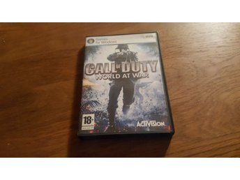 CALL OF DUTY WORLD AT WAR PC NYTT