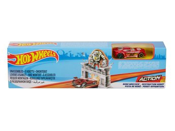 Hot Wheels Stunt Lekset Robo Wrecker
