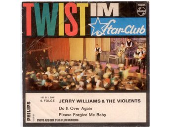 "JERRY WILLIAMS - Do It Over Again  7"" Singel  Tyskland"