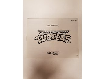 Turtles - Manual NES NINTENDO - NOE
