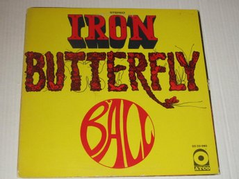 IRON BUTTERFLY, Ball, gatefold, rock, psych, gatefold