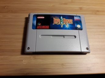 Lord of the Rings - Super Nintendo, SNES