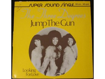 "THE THREE DEGREES - JUMP THE GUN (12"")"