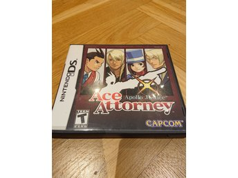 Ace Attorney Apollo Justice DS/3ds