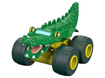 VN Leksaker Fisher Price Nickelodeon BLAZE Smådjur bil Alligator Krokodil
