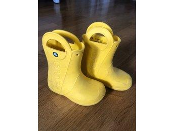 Crocs handle it gummistövlar, strl 28 29 C11