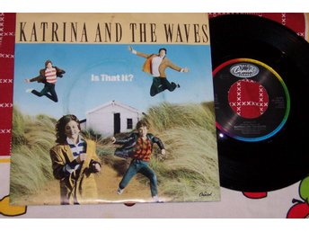 "KATRINA AND THE WAVES - IS THAT IT? 7"" 1986 TOPPSKICK!!"