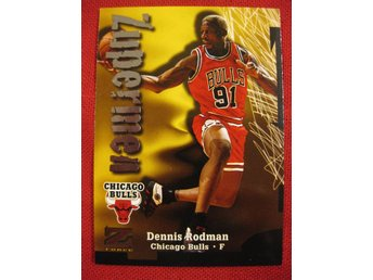 DENNIS RODMAN - 1997-98 Z-FORCE - CHICAGO BULLS - BASKET