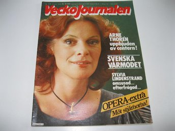 Vecko Journalen 1979-11 Tingsten.Opera Asker Blanck Aruhn MM