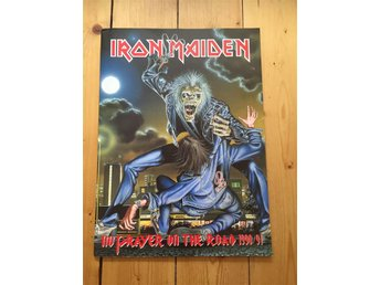 "IRON MAIDEN - turnéprogram ""No Prayer On the Road"" 1990/1991 - älmhult - IRON MAIDEN - turnéprogram ""No Prayer On the Road"" 1990/1991 - älmhult"