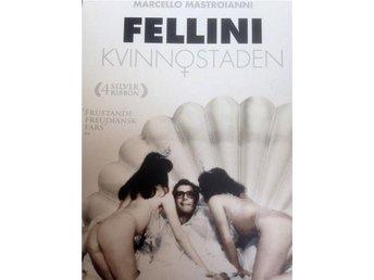 DVD Kvinnostaden FELLINI. Komiskt drama, feminism, relationer kärlek kvinnor-män - Gustavsberg - DVD Kvinnostaden FELLINI. Komiskt drama, feminism, relationer kärlek kvinnor-män - Gustavsberg
