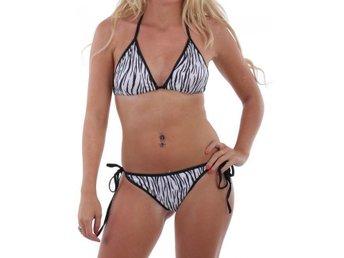 Bikini oregon - Snygg zebra bikini med såkallad scrunch FRI FRAKT 3404 - Träslövsläge - Bikini oregon - Snygg zebra bikini med såkallad scrunch FRI FRAKT 3404 - Träslövsläge