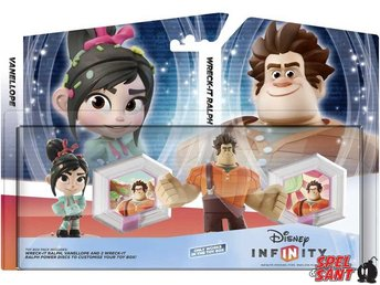 Disney Infinity Wreck-It Ralph & Vanellope Toy Box Pack