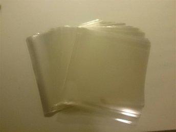 100 ST DUBBEL/TRIPPEL LP GATEFOLD PLASTFICKOR (0,05 mm) Glasklar Polypropylen - årjäng - 100 ST DUBBEL/TRIPPEL LP GATEFOLD PLASTFICKOR (0,05 mm) Glasklar Polypropylen - årjäng