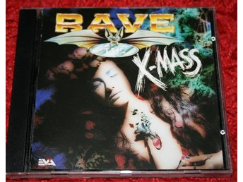 Rave The X-Mass | Rave the Ciy serien -Hardcore Gabber CD 1993 RARE