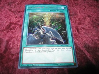 YU-GI-OH BANISHMENT OF THE DARKLORDS FOILAT DESO-EN034