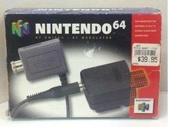 Nintendo 64 RF Switch / RF Modulator - Nintendo 64 - Varberg - Nintendo 64 RF Switch / RF Modulator - Nintendo 64 - Varberg