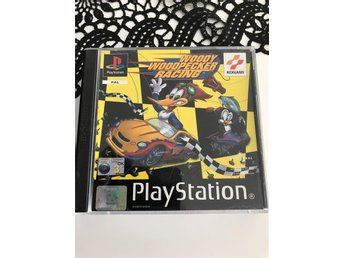 Woody woodpecker racing Playstation spel