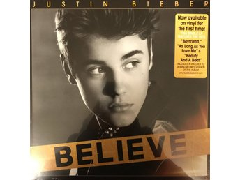 JUSTIN BIEBER - BELIEVE NY LP + MP3 DOWNLOAD