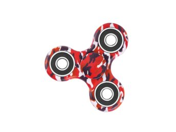 Fidget Spinner - Camo Red