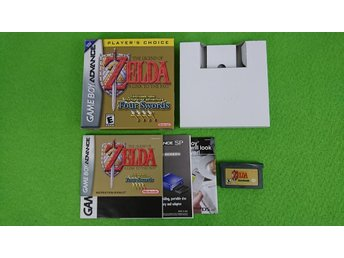 The Legend of Zelda A Link to The Past Four Swords KOMPLETT Nintendo GBA