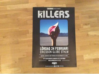 The Killers turneaffisch 2018