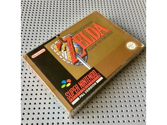 The Legend of Zelda - A Link to the Past / komplett CIB m. karta / Nintendo SNES