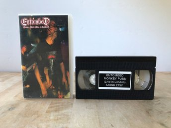Entombed - Monkey Puss - Live in London 18th March 1992 - VHS