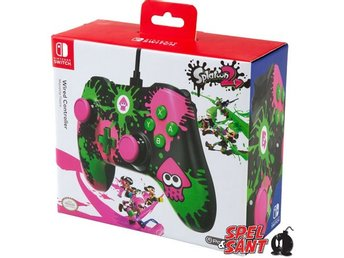 PowerA Nintendo Switch Wired Controller Splatoon 2 Ink
