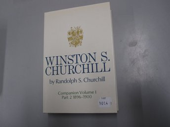 Winston S. Churchill - Companion volume 1 part 2 1896-1900