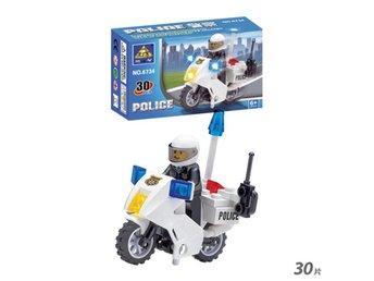 Polisen motorcykel byggklossar polis Minifigure Motorcykel Bricks 30st leksaker - Hörby - Polisen motorcykel byggklossar polis Minifigure Motorcykel Bricks 30st leksaker - Hörby