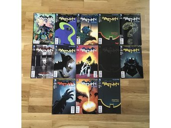 BATMAN: ZERO YEAR - the whole set #21-33