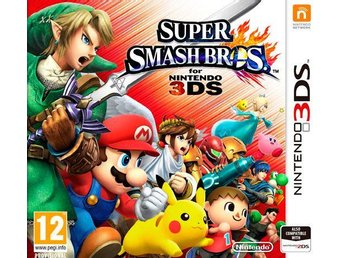 Super Smash Bros 3DS - Nintendo 3DS - Varberg - Super Smash Bros 3DS - Nintendo 3DS - Varberg