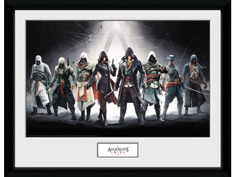 Tavla - Spel - Assassins Creed Characters