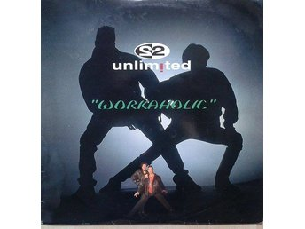 "2 Unlimited title* Workaholic*House, Euro House 12"" Belgium"
