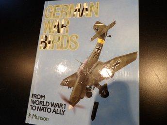 GERMAN WAR BIRDS from WWI to Nato Ally - Färgillustrationer! - FRAKTFRITT! - Lund - GERMAN WAR BIRDS from WWI to Nato Ally - Färgillustrationer! - FRAKTFRITT! - Lund