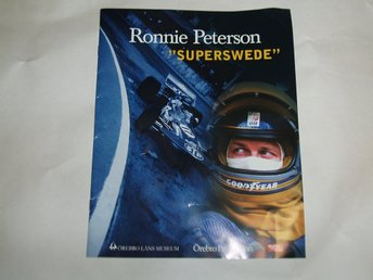 Ronnie Peterson , Superswede, ( nostalgi, f1, )
